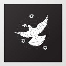 Aim for Peace Canvas Print
