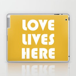 Love Lives Here Laptop & iPad Skin