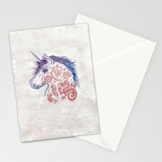 War Unicorn Stationery Cards