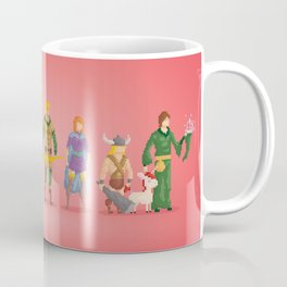 Dungeons and Dragons - Pixel Nostalgia Coffee Mug