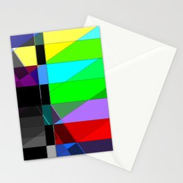 Black out. Stationery Cards