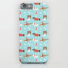 A dog's Christmas iPhone 6s Slim Case