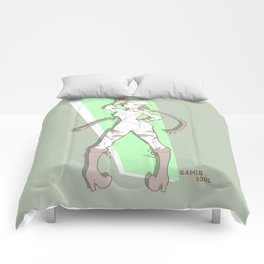 Gamer Soul Fighter Line - Cammy Comforters