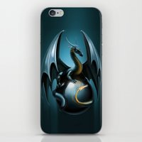 dragon ball iPhone & iPod Skins featuring dragon by Antracit