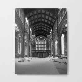 City Methodist Church Gary Indiana Photography Metal Print