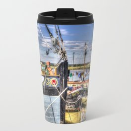 Thames Sailing Barges. Travel Mug