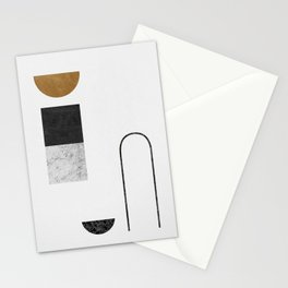 Abstract Geometric IV, Graphic Design Stationery Cards
