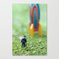 Rocket Man Canvas Print