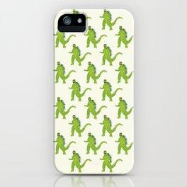 Godzilla pattern iPhone Case
