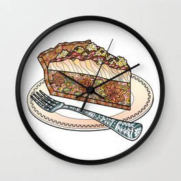Sweet Cake Wall Clock