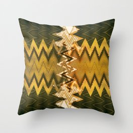 abstract zees 2 Throw Pillow