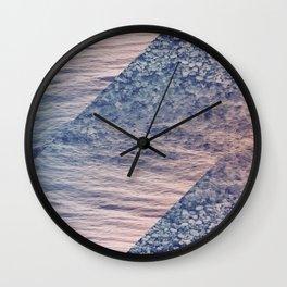 Geometric Sea Wall Clock