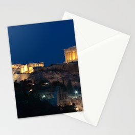 The Parthenon (447 B.C.) on the Athenian Acropolis, Greece Stationery Cards