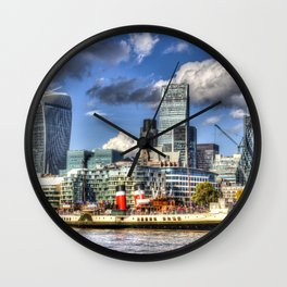 The Waverley and London Wall Clock