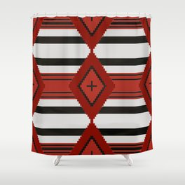 Chief Blanket 1800's Shower Curtain