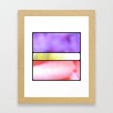 Grid #3 (Fleur) Framed Art Print