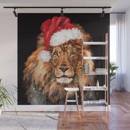 Christmas King Lion Wall Mural