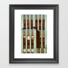Art Deco Detail of the Eastern Building - Los Angeles #76 Framed Art Print