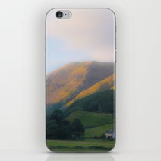 Golden Mountain Sunset iPhone & iPod Skin