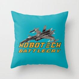 robotech Throw Pillow