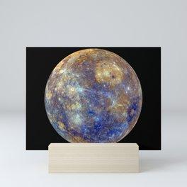 1123. False Color View of Mercury Mini Art Print