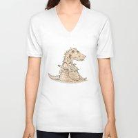 dragon ball V-neck T-shirts featuring Dragon  by gunberk