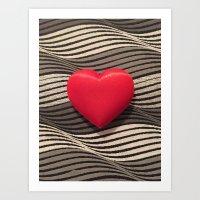 valentine Art Prints featuring Valentine by Jose Luis