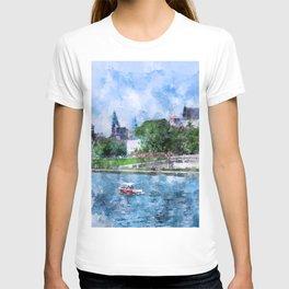 Cracow art 19 #cracow #krakow #city T-shirt