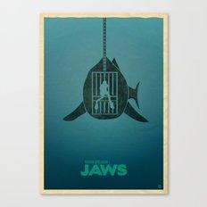 Steven Spielberg's JAWS Canvas Print