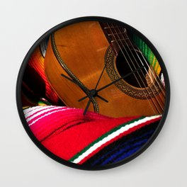 Guitar 1 Wall Clock