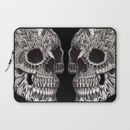 Ornate Skull Laptop Sleeve