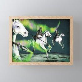 Valkyries Framed Mini Art Print