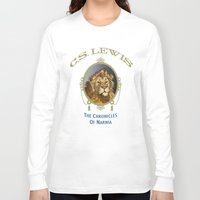 narnia Long Sleeve T-shirts featuring The Chronicles of Narnia by Quigley Down Under