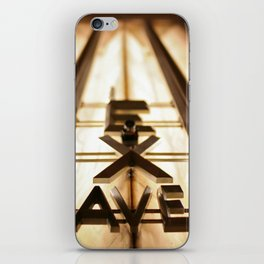 Lex Ave iPhone Skin