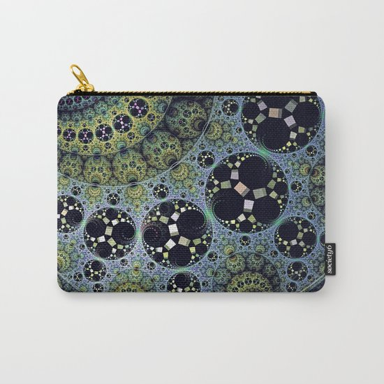 Miraculous patterns in circles Carry-All Pouch