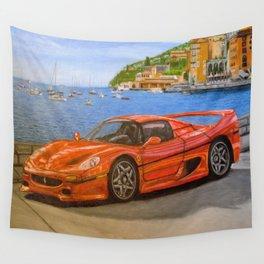 Sport car Wall Tapestry