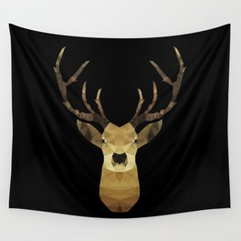 Polygon Heroes - The Deer Wall Tapestry