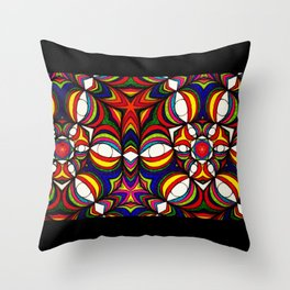 infinite eyes Throw Pillow