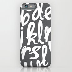 ALPHABET Slim Case iPhone 6s