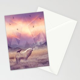 In Search of Solace Stationery Cards