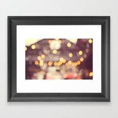 Enchanted Evening Framed Art Print