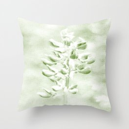 Lupine in Vintage color #decor #society6 Throw Pillow