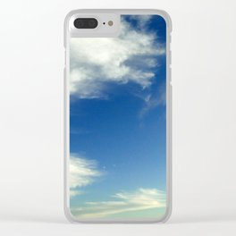 evening sky Clear iPhone Case