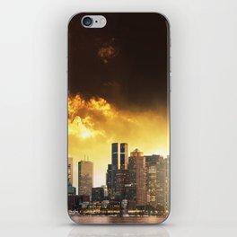 boston skyline iPhone Skin