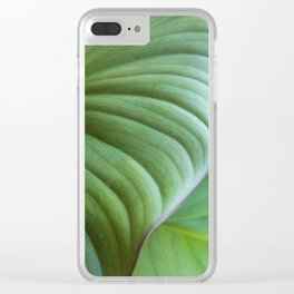 Homalomena I Clear iPhone Case