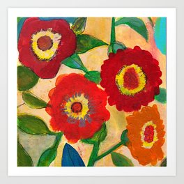 park flower1 Art Print