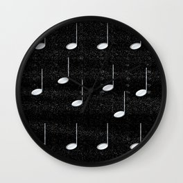 Just Noted Wall Clock