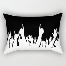 Audience Poster Background Rectangular Pillow
