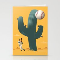 league Stationery Cards featuring Cactus League by John W. Tomac