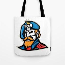Highlander Mascot Tote Bag